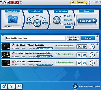 Scarica gratis musica da YouTube con YouTubeByClick