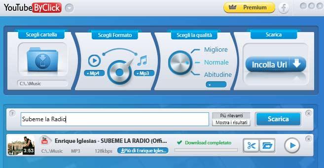 Scaricare da YouTube Subeme la radio - Enrique Iglesias