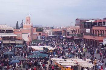 "Marrakech "" Piazza Jemaa el Fna"""