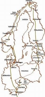 Capo Nord e Repubbliche Baltiche in moto