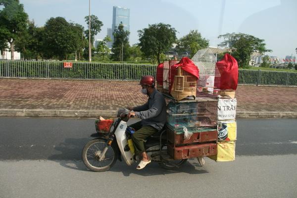 In moto per le strade di Saigon