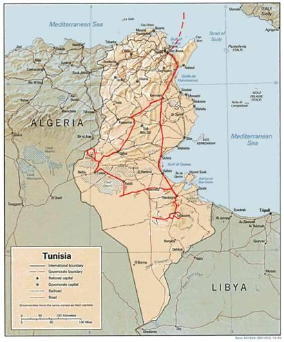 Viaggio in moto in Tunisia