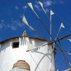 Isola di Santorini, Grecia - Mulino a Vento