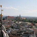 Polonia - Cracovia vista dal campanile della Cattedrala