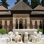 Andalusia - Granada - Il cortile dei Leoni