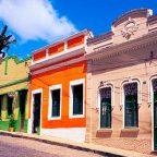 Le case di Olinda - Città patrimonio Unesco del Brasile
