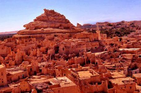Egitto - Oasi di Siwa - La montagna dei morti