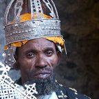 Etiopia - Lalibela - un sacerdote al monastero di Nakutoleab