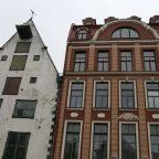 Lettonia - i palazzi del centro di Riga