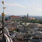 Polonia, Cracovia - Vista dal campanile della cattedrale di san venceslao