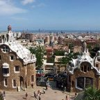 Spagna, Barcellona - Le forme di Gaudì al Parc Guell