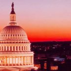 Stati Uniti - Tramonto a Washington