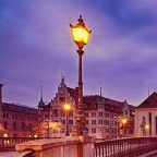Svizzera - Zurigo di sera