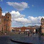 Peru - Cuzco la basilica cattedrale dell'Assunzione della Beata Vergine Maria
