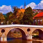 Bosnia Erzegovina - Il Ponte Latino a Sarajevo
