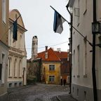 Estonia - I vicoli della cittò di Tallin