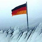 Germania - Berlino in inverno vista dalla cupola del Reichstag