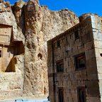 Iran - Le tombe dei re achemenidi a Naqsh-e Rostam
