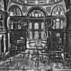 Turchia - Istanbul - Interno di Santa Sofia - Foto elaborazione Markos.it