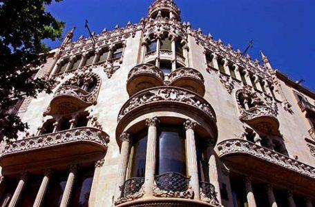 Spagna - Barcellona - I palazzi del Barrio Gotico