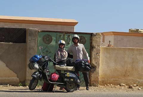 Viaggio in Vespa di Paolo Zambon - Oman