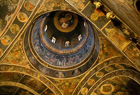 Chiesa Stavropoleos - affreschi