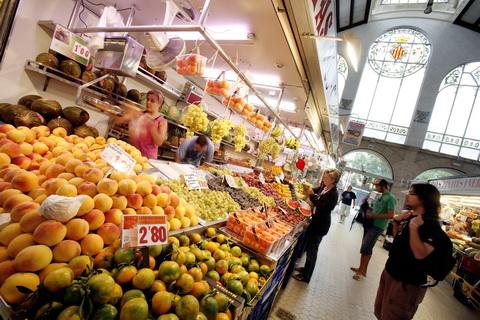 viaggio a Valencia - Mercato Centrale