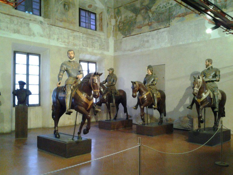Sala dei cavalieri - Palazzo Ducale Sabbioneta.