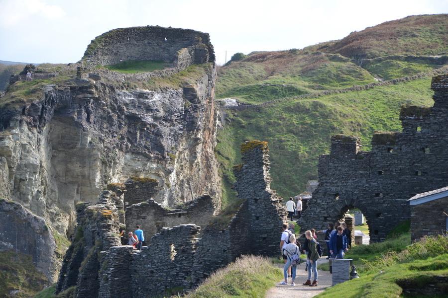 Tintagel - Il castello di Artu'