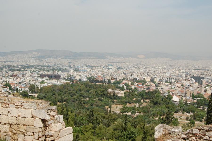 Grec ia - Atene vista dall'alto
