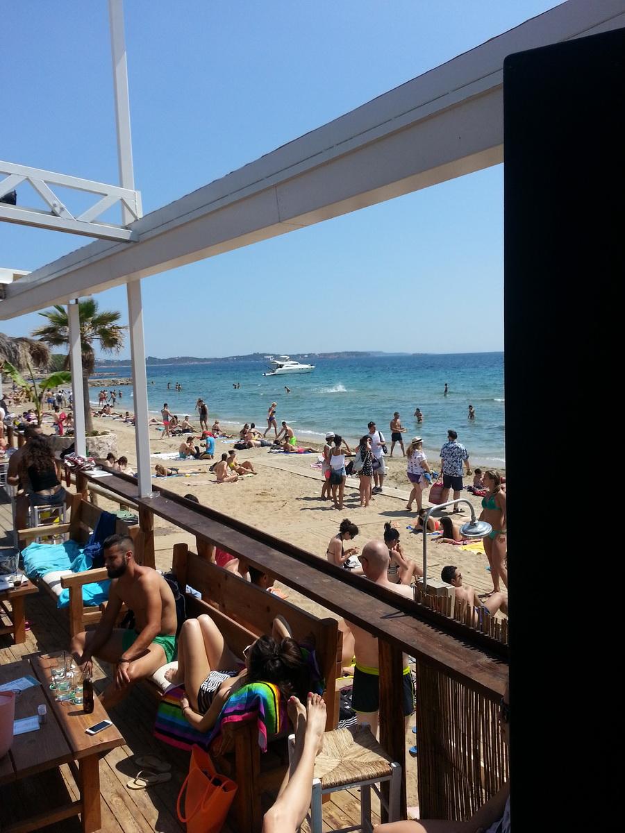 """Grecia - Atene - """"Spiaggia La Banane"""" (Leoforos Karamanli Konstadinou)"""