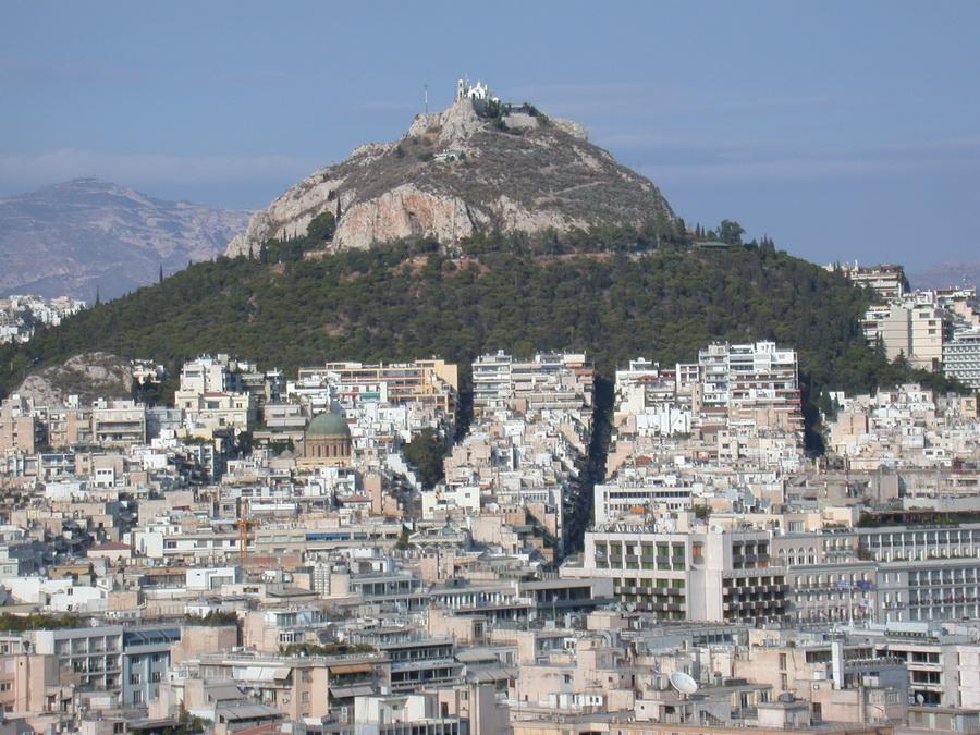 Grecia - Atene - Monte Lycavitos, la collina dei lupi