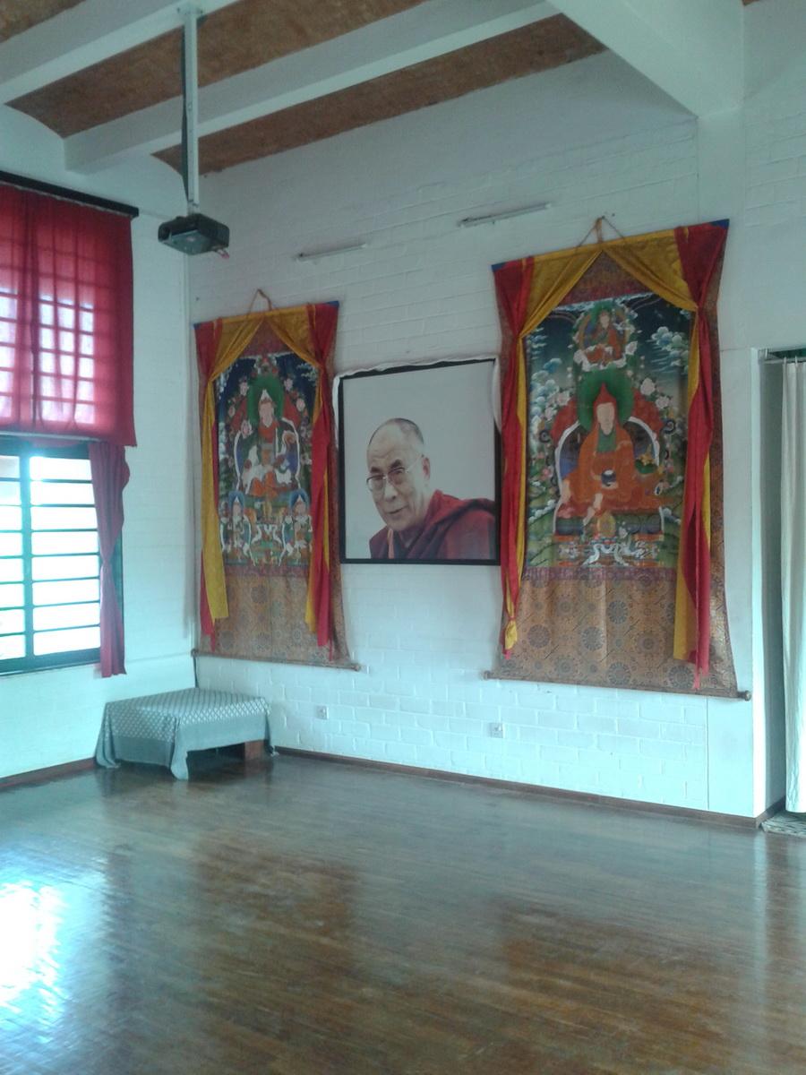 Auroville - Tibetan Pavilon sala proiezioni e meditazione