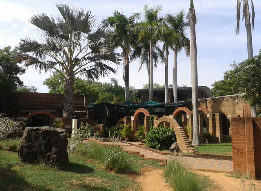 Auroville - centro commerciale