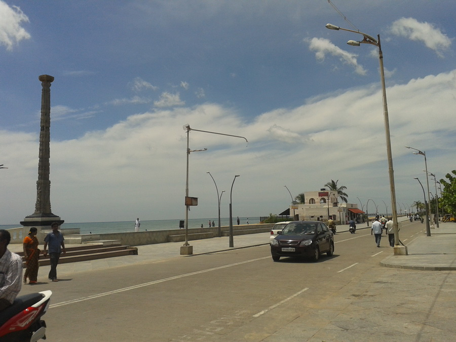Pondicherry - lungo mare