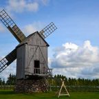 I mulini di Angla in Estonia
