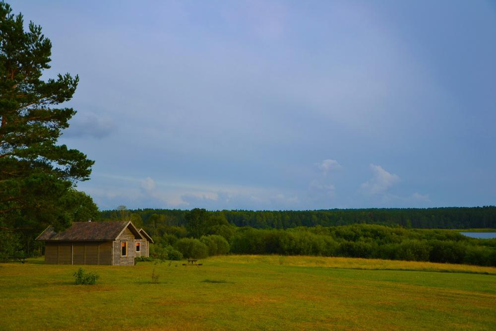 Lettonia - Vista dal bungalow