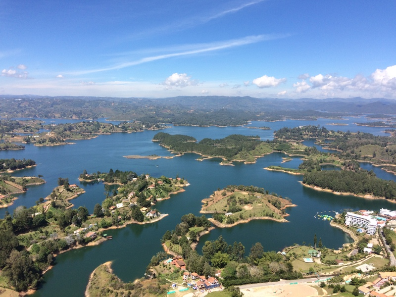 Arcipelago visto da El Penon