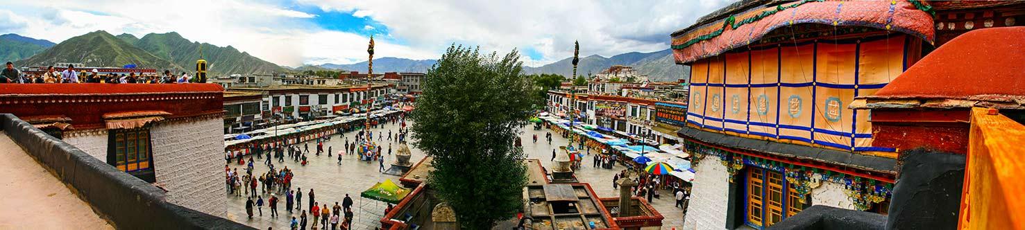 Lhasa - Panoramica Barkor