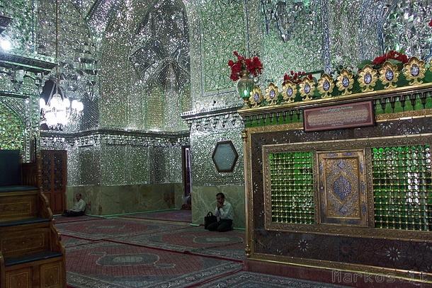 shiraz la moschea degli specchi