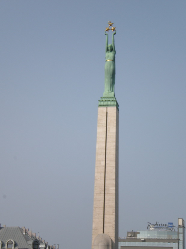 Riga, monumento alla liberta'