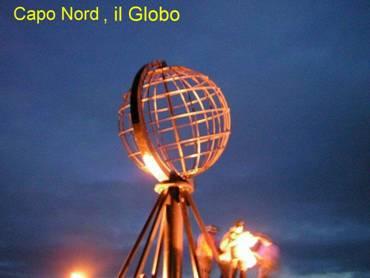 Capo nord, il Globo