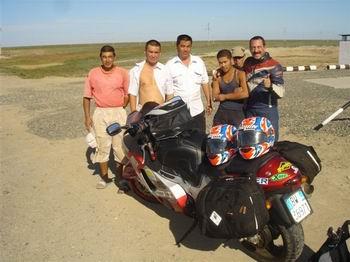 viaggio in moto in Kazakistan