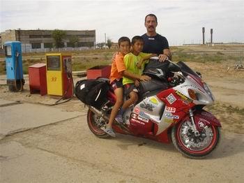 viaggio in Kazakistan in moto