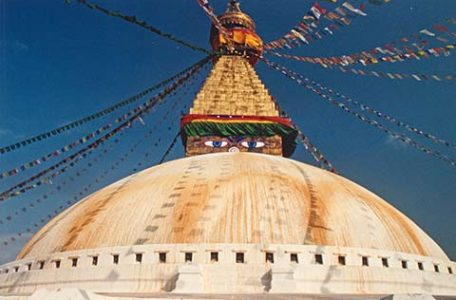Katmandu Nepal - Lo Stupa di Bodhnat