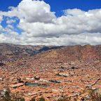 Perù Cusco vista dall' alto