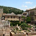 Spagna - Andalusia, Granada, all'interno dell' Alhambra