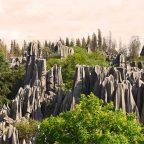 Cina, la foresta pietrificata nello Yunnan