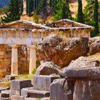 Grecia - Area archeologica di Delphi