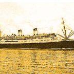 Il transatlantico Italiano Conte Grande, varato il 29 giugno 1927